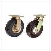 Pneumatic Rubber Caster Wheels