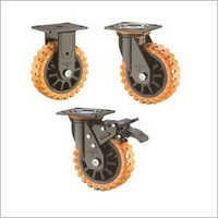 Skidproof Wheels with PP Core Double Ball Bearing