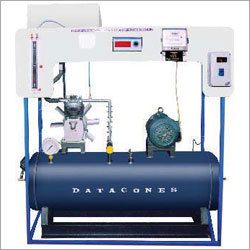 Single Stage Reciprocating Air Compressor Test Rig