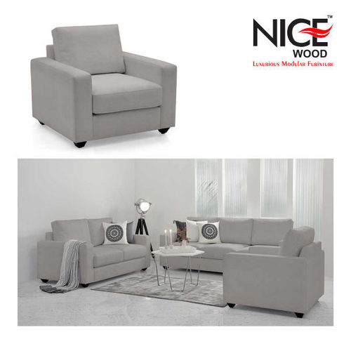 L Fabric Sofa Set 6 Seater