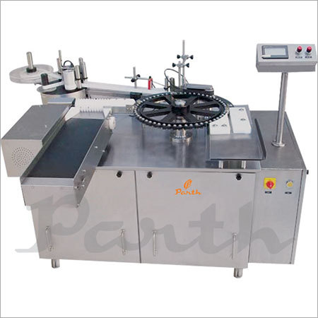 Ampoule Sticker Labeling Machine.