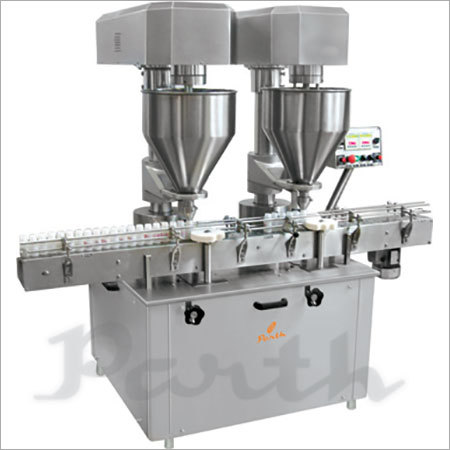 Doubel Head Auger type powder Filling machine