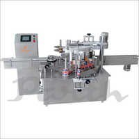 Double Side Flat bottle Sticker Labeling Machine.