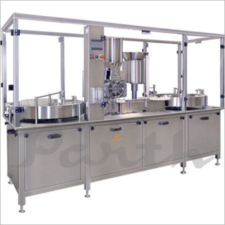 Injectable Powder Filling & Stoppering Machine