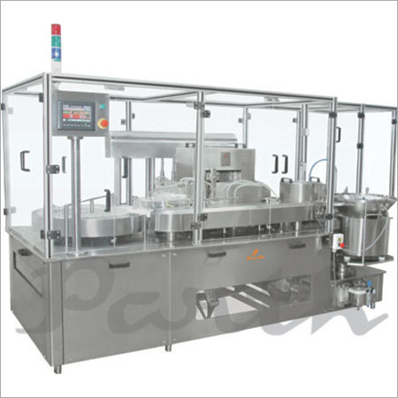 Motion Filler (Servo Base inj. Liquid Filling MAchine