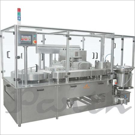 Servo Base Vial Filling Stoppering Machine(Motion Filling)