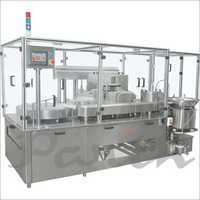 Servo Base Vial Filling Stoppering Machine(Motion Filling)