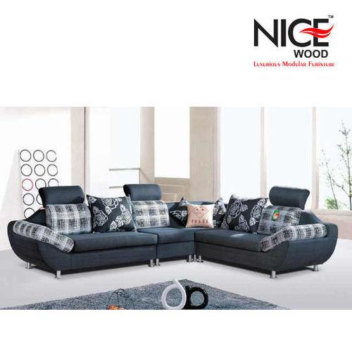 L Curvy Sofa Set