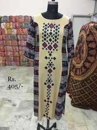 Rayon Embroidery Kurti