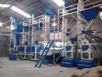米製造所の機械類の植物