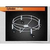 SS Cylinder Trolley