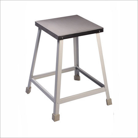 ATTENDENT STOOL POWDER COATED