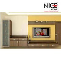 Wardrobe With LCD unit