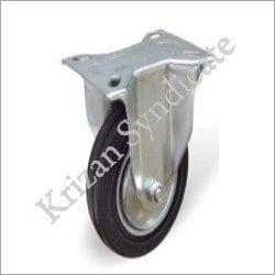 Natural Rubber Caster With Roller Bearing