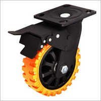 Skid proof Caster Wheels