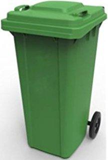 Green Dust Bin (120ltr)