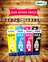 EPSON  L-210 INK BOTTLE SET
