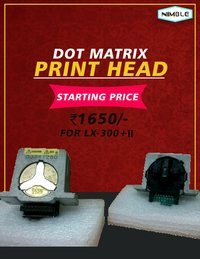 DOT MATRIX PRINT HEAD