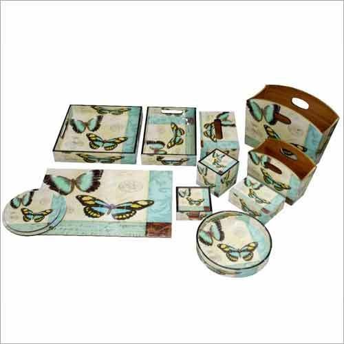 Wooden Dinnerware Set