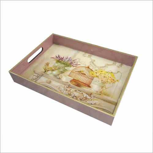 Printed Wooden Tray