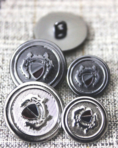 Metal Suit button