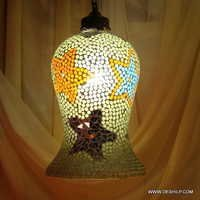 MOSAIC GLASS HANGING