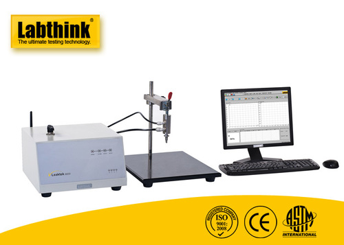 ASTM F2054 Burst tester for Seal Strength Test of Flexible Packages