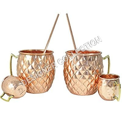 Pineapple Copper Mug