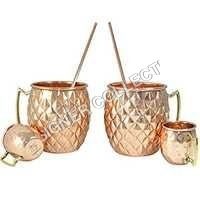 Pineapple Copper Mug