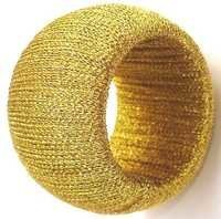 ROUND YELLOW  NAPKIN RING