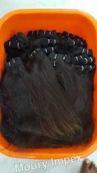 Weft Natural Straight Hair