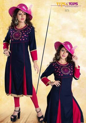 Rayon catalogue kurtis