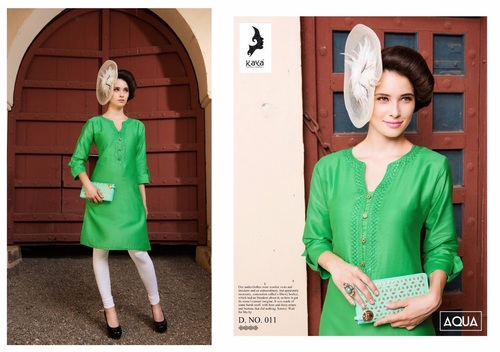 Cotton short kurtis