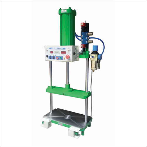 2 Pillar Pneumatic Press With Guided Moving Platen