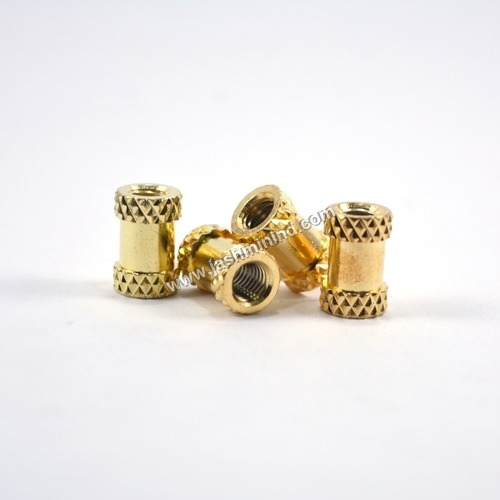 Diamond Knurling Brass Inserts