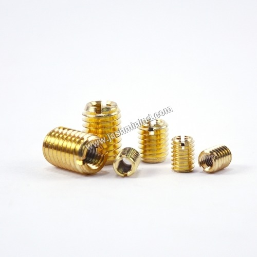 Brass Slotted Threaded Inserts