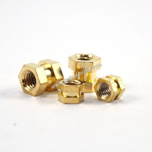 Brass Hex Inserts Nut