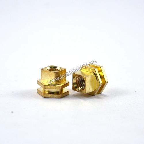 Brass Hexagonal Insert Nut