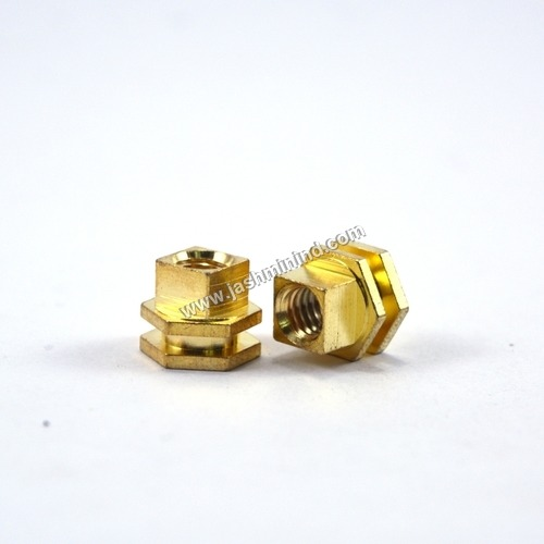 Brass Hexagonal Insert Nut