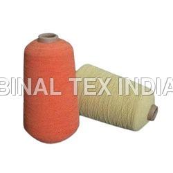 dying elastic yarn