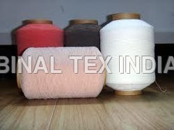 dying elastic yarn