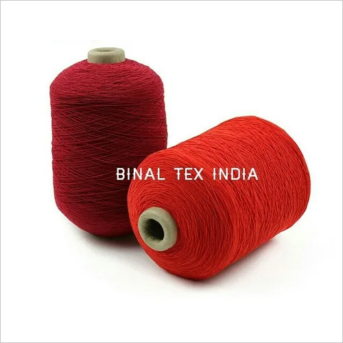 COLOR RUBBER COVERED YARN