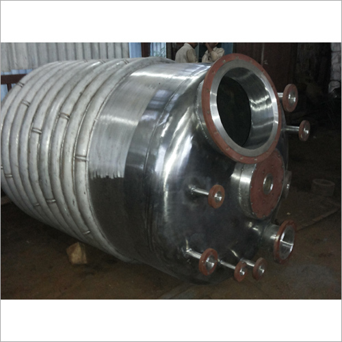 Jacketed Limpet Coil Vessel
