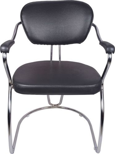 THE ATRACTIVO MID BACK GUEST CHAIR BLACK