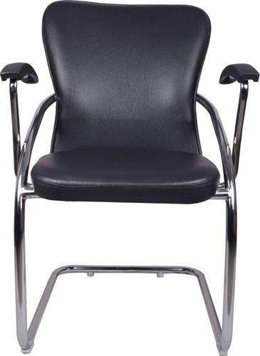THE DOBLAR MID BACK GUEST CHAIR BLACK