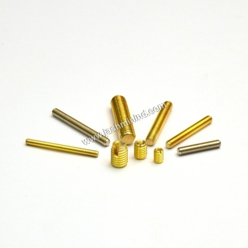 Brass Full Threaded Stud