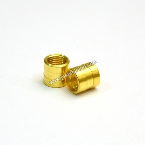 Brass Threaded Straight Coupling