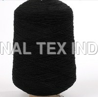 Black Elastic Yarn