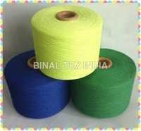 Cotton Elastic Covered Yarn