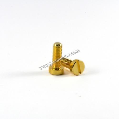 Brass Cheese Head Screw